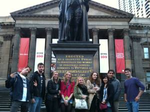 My group for the Melbourne Welcome Week