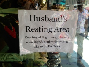 For the men who can't cope with any more shopping..