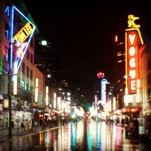 City Lights-Granville Street