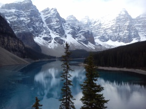 the Rockies-Moraine Lake