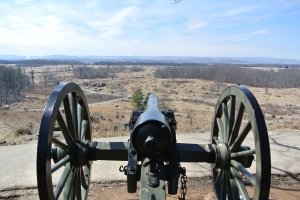 View from Little Round Top, Gettysburg, Pennsylvania