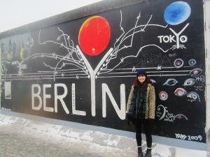 Berlin, Jan 2013. Wearing approximately 8 layers.