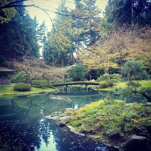 Nitobe Gardens- on campus and free for students