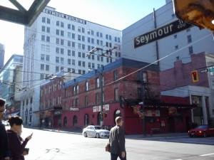 Seymour- where I spent my first night in Vancouver
