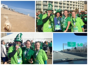 Shamrock 8k in Virginia Beach with my family