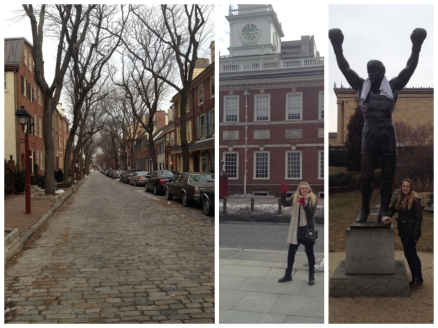 Philadelphia! Freedom, Liberty and of course Rocky!