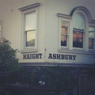 Haight Ashbury - the home of the 'Summer of Love' and many, many hippies.