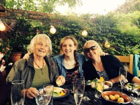 finally reunited with Gran and Mum