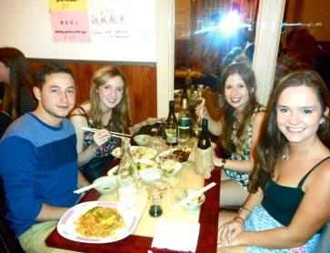 dumplings in China town