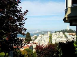 I was told San Fran was built on hills. I wasn't aware of how steep such hills were!