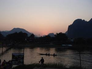 Beautiful scenery in Laos