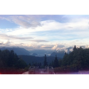 View from SFU