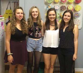 My fourth year house girls