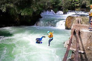 Kaituna - Taking the leap