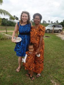 Mama Noa and one of her grandchildren