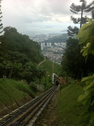 The steepest train in Asia, Penang