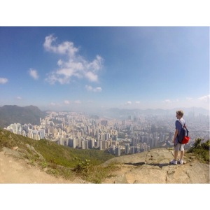 Lion Rock Hike with the family