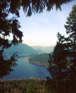 View from Burnaby Mountain Park