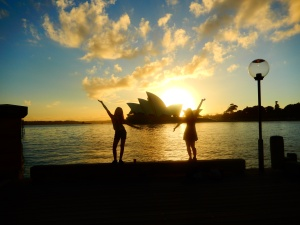 Sun Rise over Opera House, Sydney