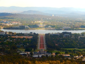 Views from Mount Ainslie, Canberra