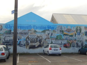 Street Art in Greymouth, New Zealand