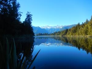 Glaciers reflection, New Zealand