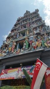 Hindu Temple #chinatown
