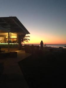 Stunning Sunset over Indian Ocean