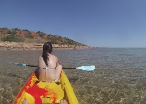 Kayaking in Monkey Mia