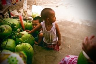 Grandson of Coconut Seller in Bagan