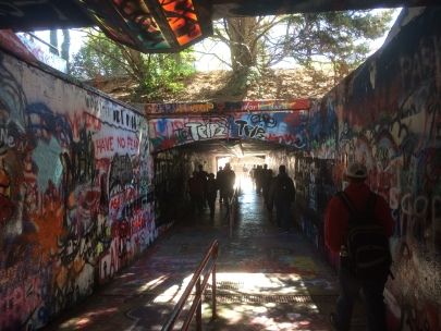 Freedom Expression Tunnel