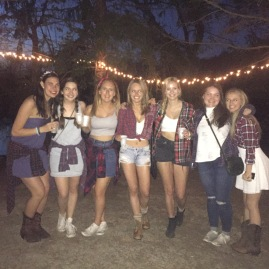 One last sorority barn dance before the semester ends