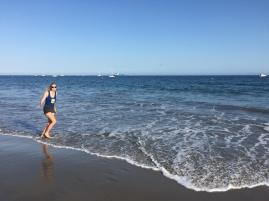 Pace by the ocean (get it) in Santa Barbara, California