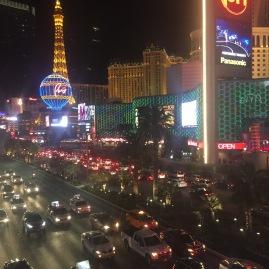 The strip in Las Vegas, Nevada