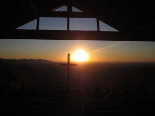 Sunrise in Brevard