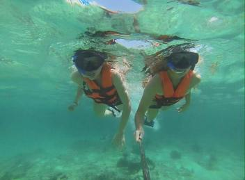 Snorkelling in Mexico