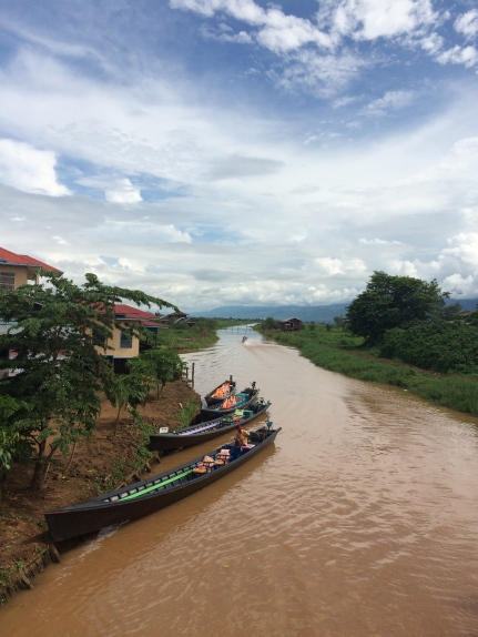 First day in Myanmar, Inle Lake