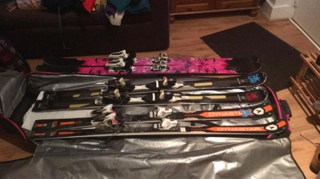Skis for Blog