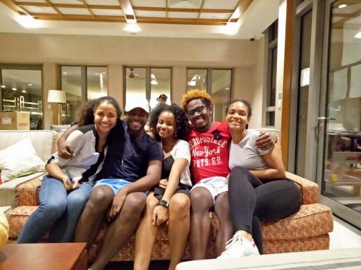 My Jamaican family!! (Hi RoJay, Alexia, Juan and Emma)