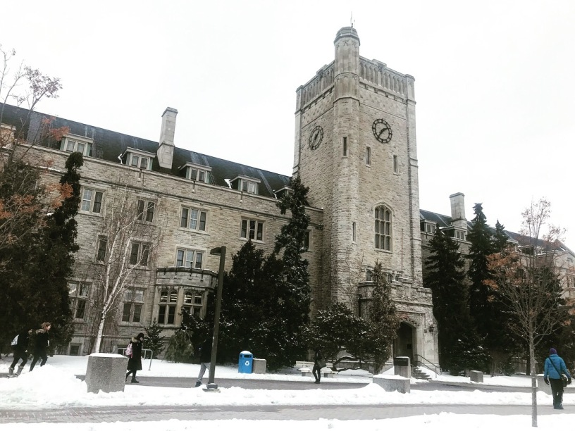 Johnston Hall at the University of Guelph