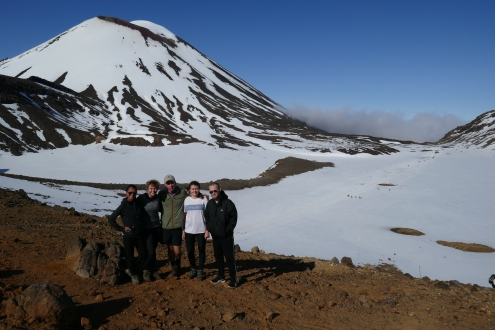 Tongariro Group Photo